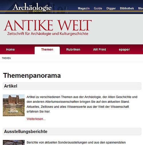 Antike Welt Leserforum Frei Zug Nglich Nachricht