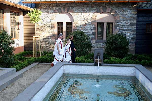 Römischer Garten Im Kastell Saalburg Eingeweiht Nachricht