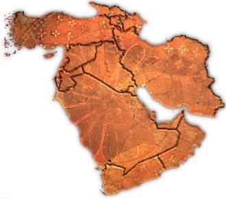 Karte: Nahost